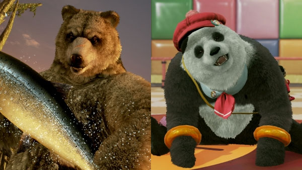 Tekken 7 Adds Kuma And Panda Online Tournaments Gematsu