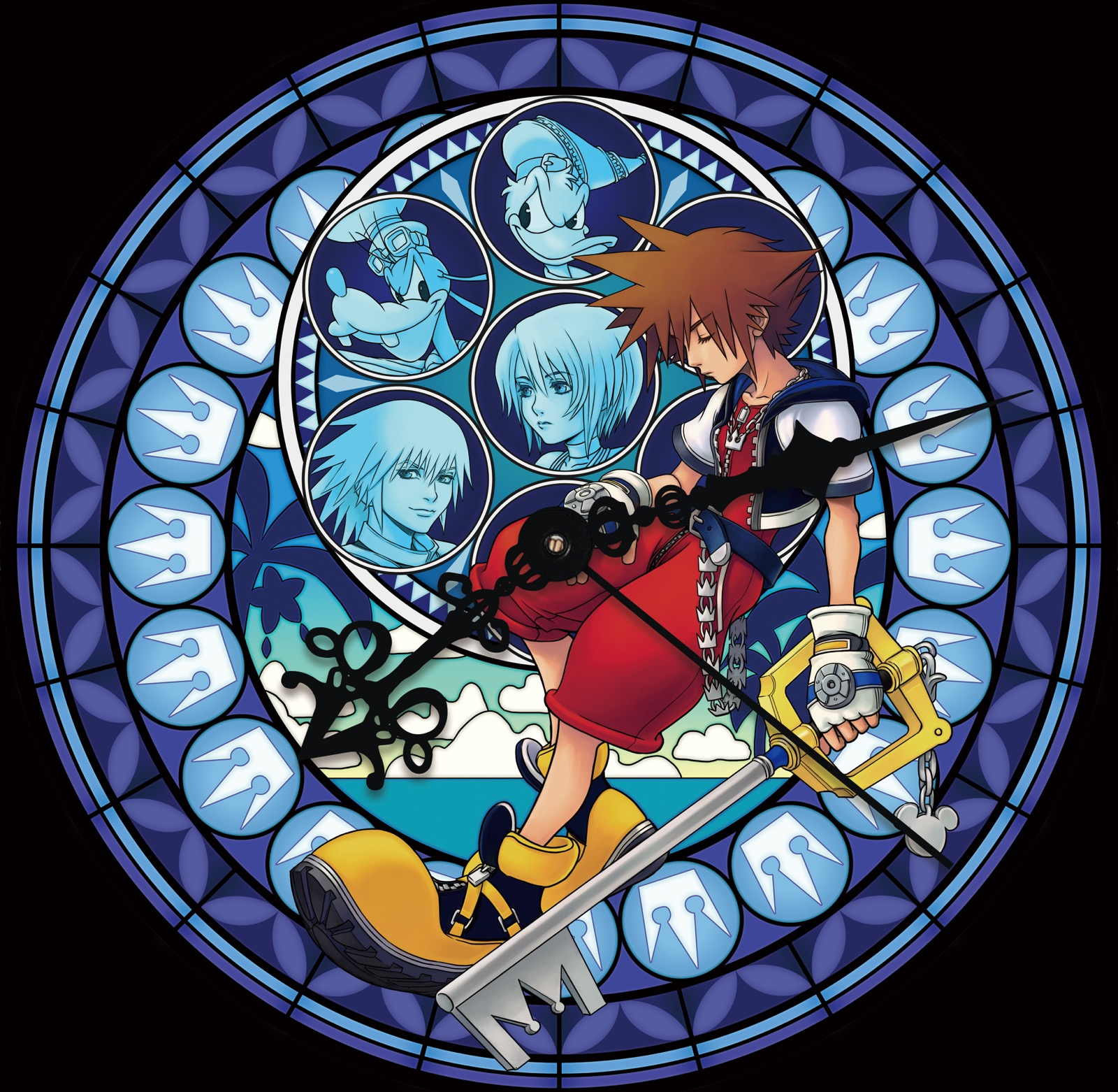 Kingdom Hearts launches 15th anniversary 'Memorial Stained Glass Clock' campaign in Shinjuku ...