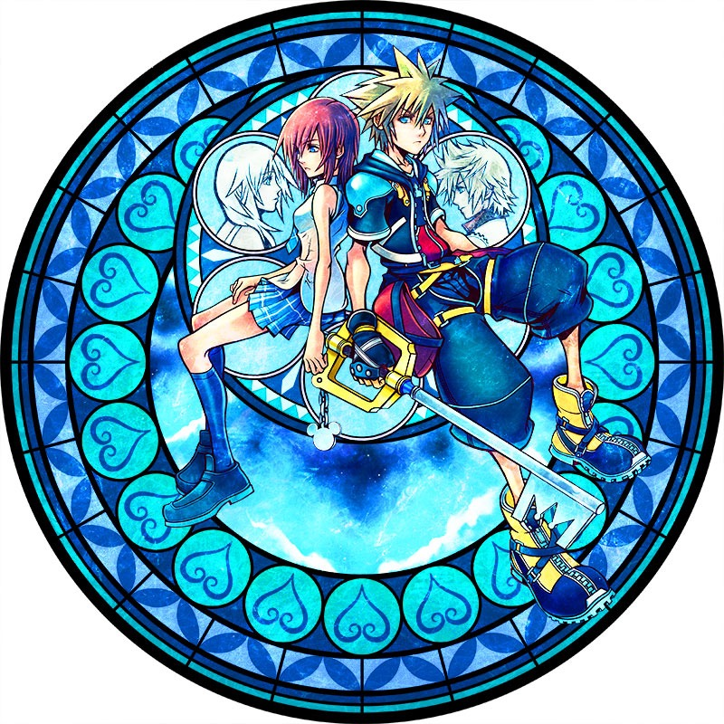Kingdom Hearts launches 15th anniversary 'Memorial Stained Glass Clock ...