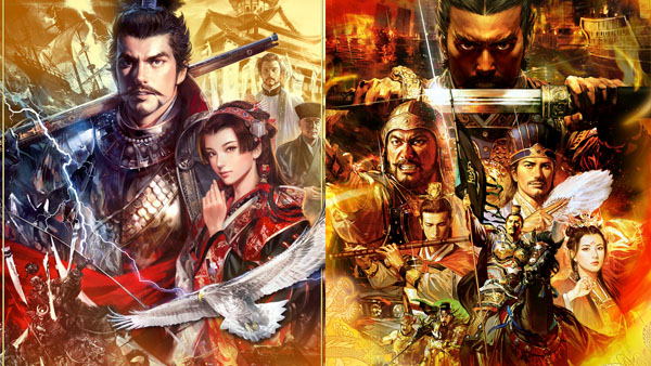Nobunaga's Ambition: Sphere of Influence with Power-Up Kit and Romance of the Three Kingdoms XIII with Power-Up Kit