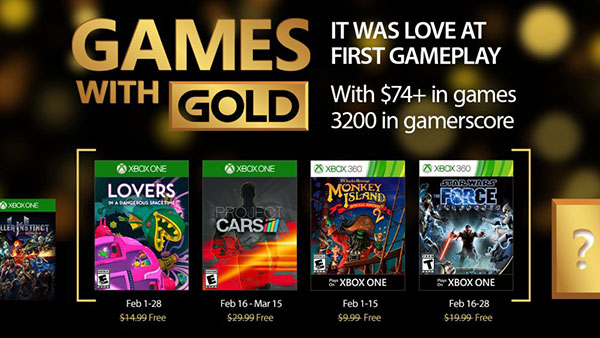 Games with Gold - February 2017