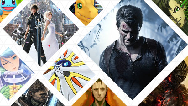 The Gematsu community Games of the Year 2016 vote