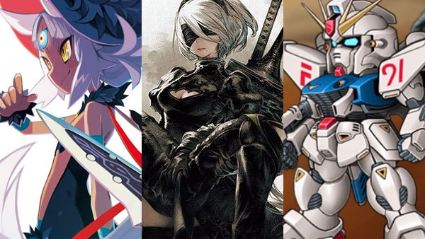 The Witch and the Hundred Knight 2, NieR: Automata, Super Robot Wars V