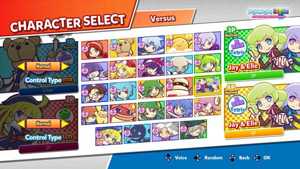 puyo puyo tetris back to basics trailer gematsu