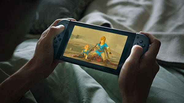 Switch and The Legend of Zelda: Breath of the Wild