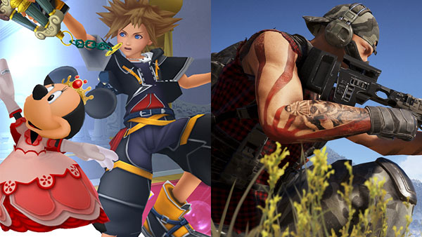 Kingdom Hearts HD 1.5 + 2.5 Remix and Ghost Recon: Wildlands