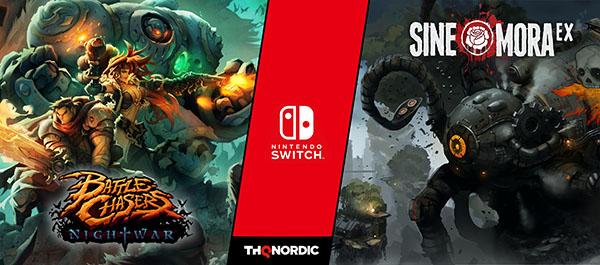Battle Chasers: Nightwar and Sine Mora EX
