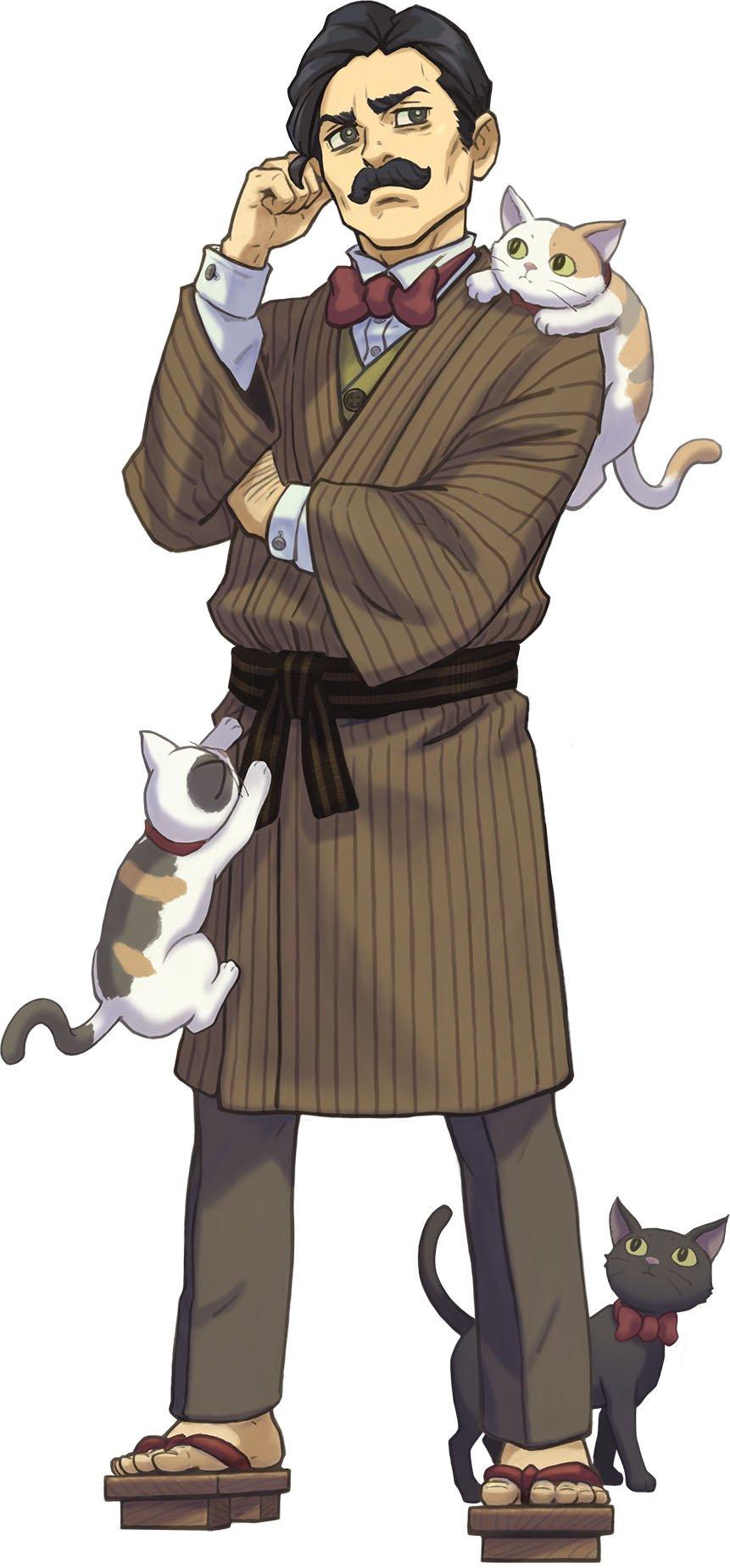Resultado de imagen de Souseki ace attorney