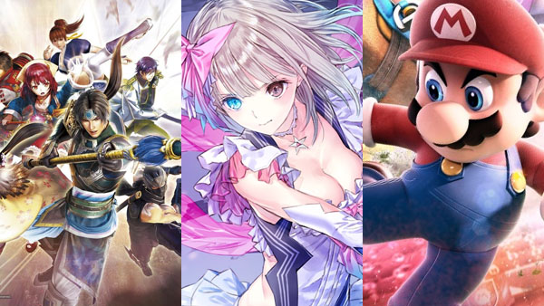 Musou Stars, Blue Reflection, Mario Sports Superstars