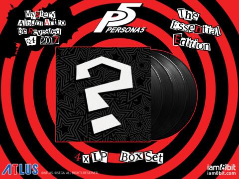 Persona 5 vinyl soundtrack