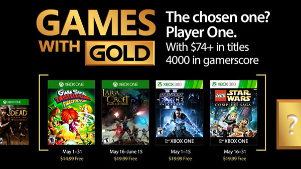 Xbox Live Gold free games for May 2017