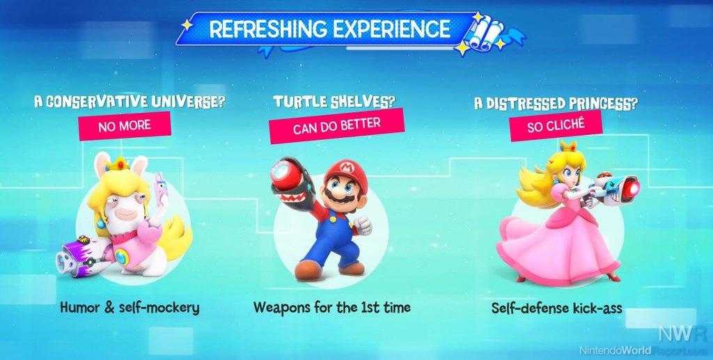 Super Mario e os Rabbids da Ubisoft juntam forças num novo RPG