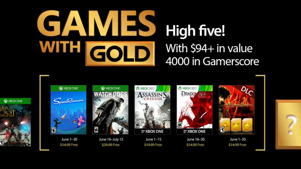 Xbox Live Gold free games for June 2017