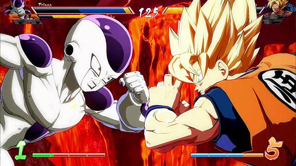 Dragon Ball Fighterz E3 2017 Gameplay Gematsu