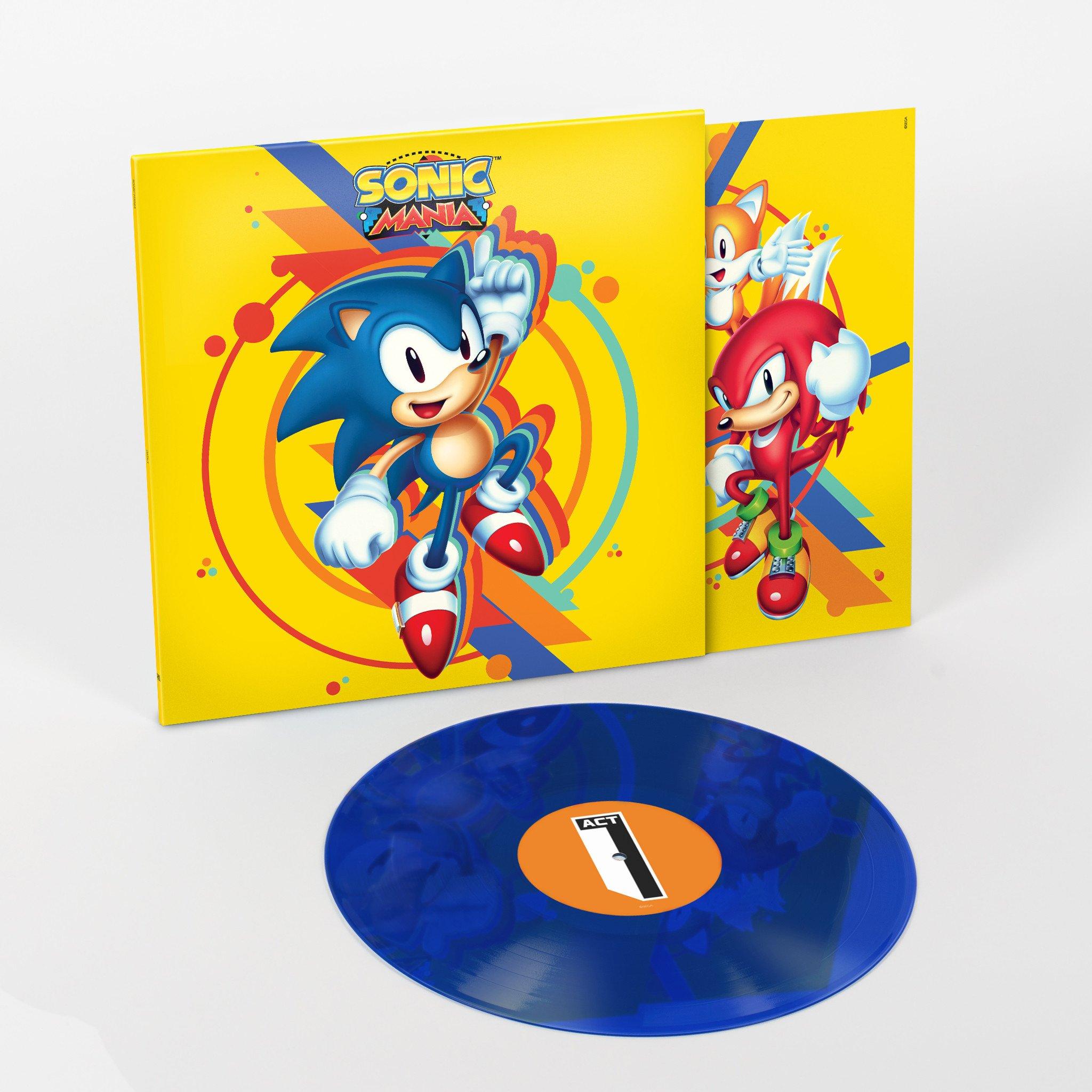 Sonic Mania Vinyl Album Announced Gematsu