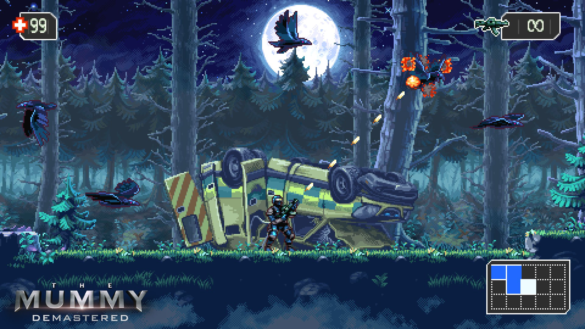 Wayforward Announces The Mummy Demastered For Consoles And Pc Gematsu