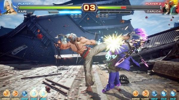 Arika Fighting Game