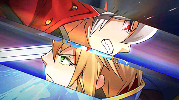 BlazBlue: Central Fiction for arcade version 2 0 opening