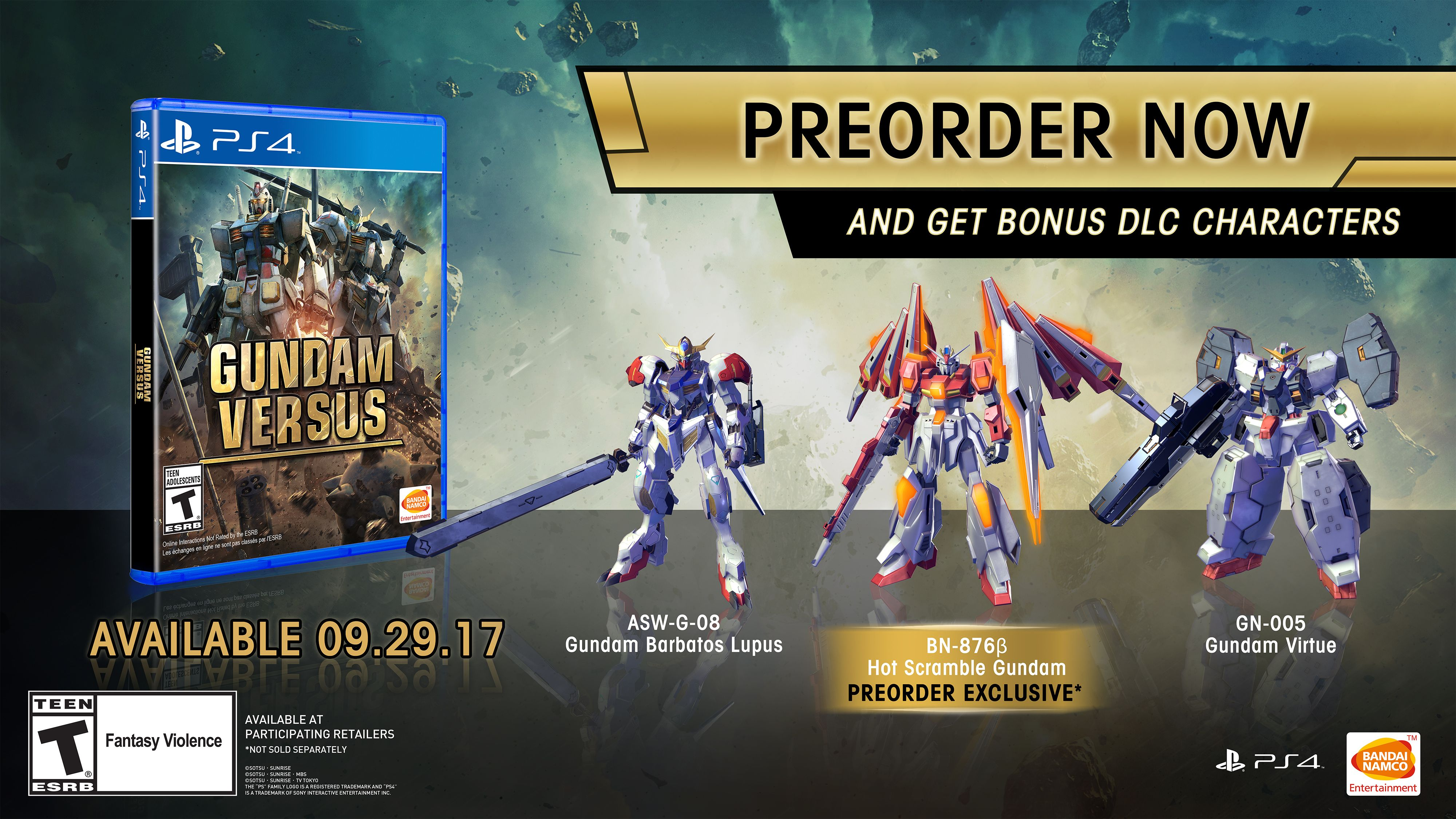 Pre order code recovery form - Bandai Namco Will Host An Open Beta For Gundam Versus Ahead Of Its Release In The Americas The Publisher Announced At Its San Diego Comic Con 2017 Fighting