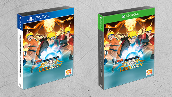Naruto Ultimate Ninja Storm Trilogy llega el 25 de agosto
