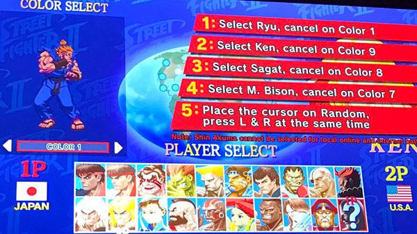 Shin Akuma Unlockable In Ultra Street Fighter Ii The Final