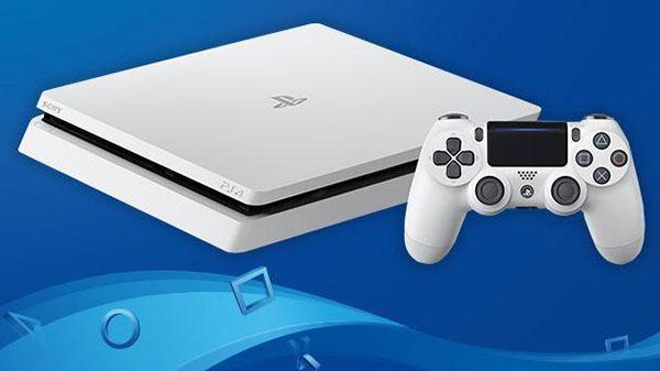 'Glacier White' PlayStation 4