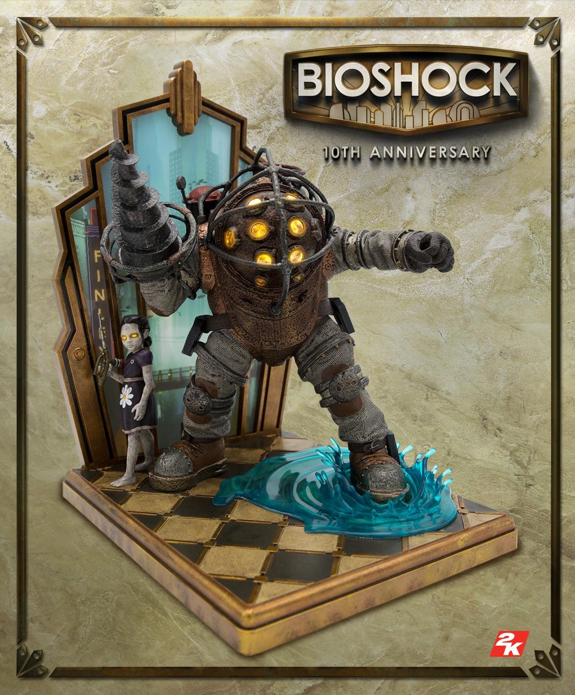 تماشا کنید: معرفی یک نسخه کالکتور ویژه برای عنوان BioShock بهمناسبت سالگرد 10 سالگی این بازی