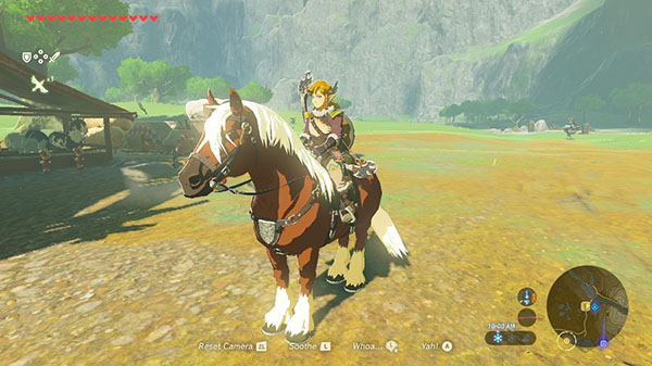 The Legend of Zelda: Breath of the Wild for Switch version