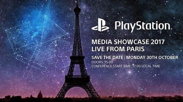 Sony at Paris Games Week 2017
