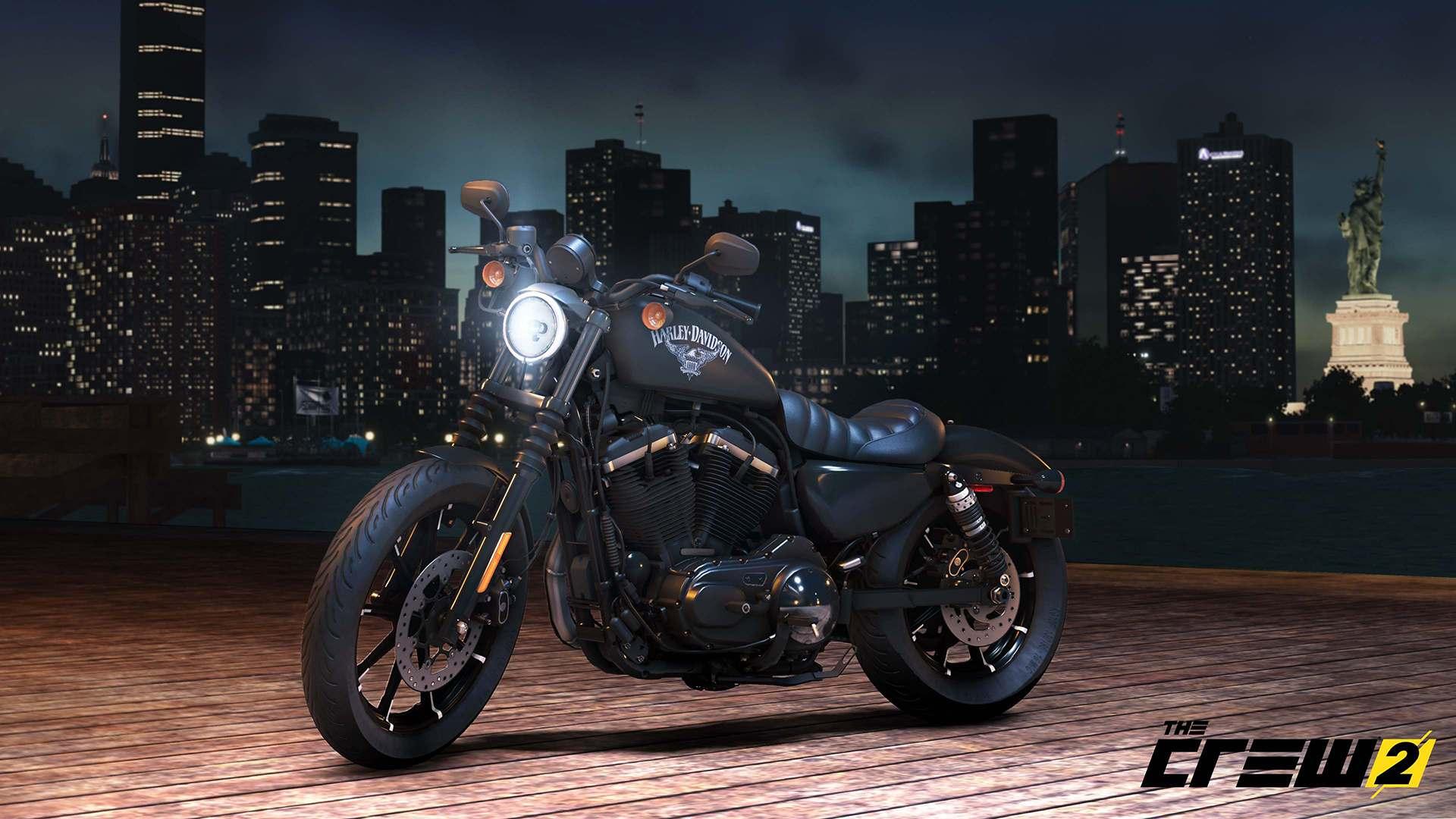 the crew 2 adds harley davidson motorcycles gematsu. Black Bedroom Furniture Sets. Home Design Ideas