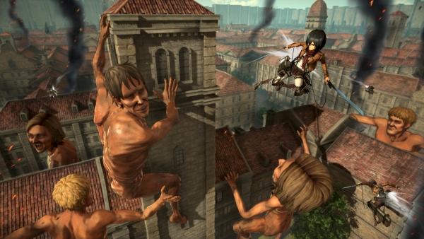 تماشا کنید: چهار تصویر جدید از عنوان Attack on Titan 2 منتشر شد