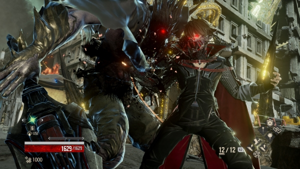 Code Vein further details battle system - Gematsu