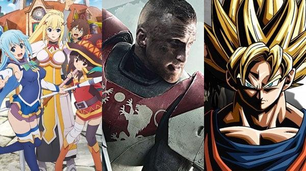 KonoSuba, Destiny 2, Dragon Ball Xenoverse 2