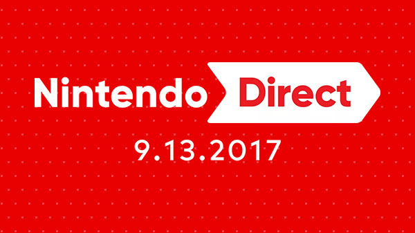 Nintendo Direct live stream: September 13, 2017