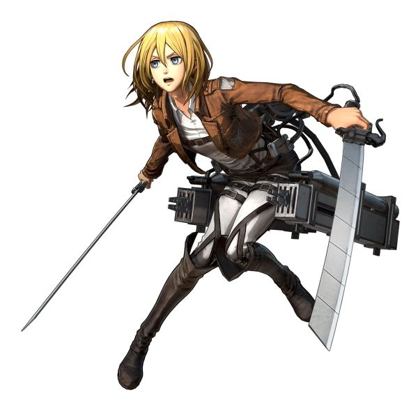 Attack On Titan 2 Details: Koei Tecmo's Attack On Titan 2 Details Christa Lenz And