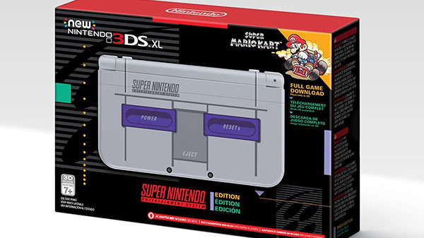 SNES Classic Style New 3DS XL