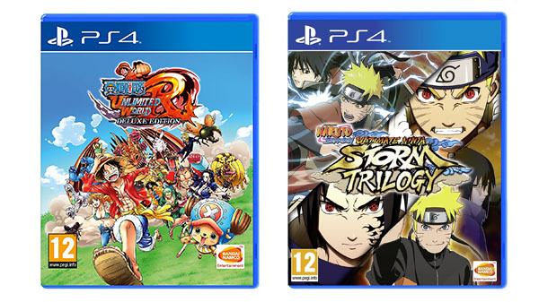 One Piece: Unlimited World Red Deluxe Edition and Naruto Shippuden: Ultimate Ninja Storm Trilogy
