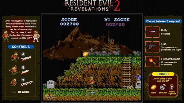 Resident Evil: Revelations 2 Switch