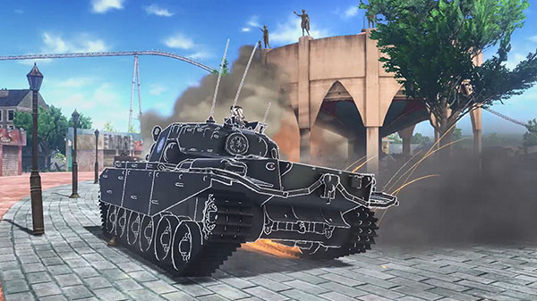 Girls Und Panzer Dream Tank Match Launches In English On February - Minecraft panzer spiele