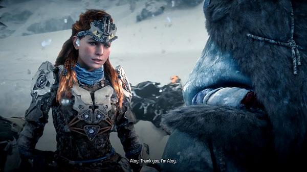 Horizon Zero Dawn expansion 'The Frozen Wilds'