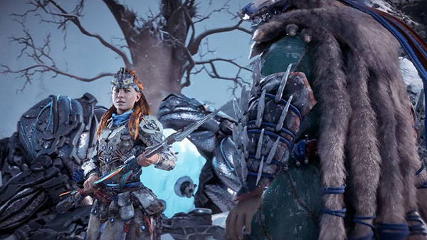 Horizon: Zero Dawn expansion 'The Frozen Wilds'