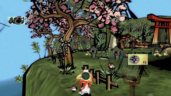 Okami Hd For Ps4 Xbox One And Pc Celestial Brush And Demon