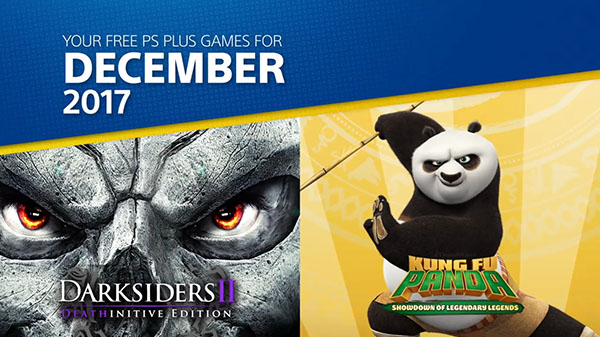 PlayStation Plus free games for December 2017