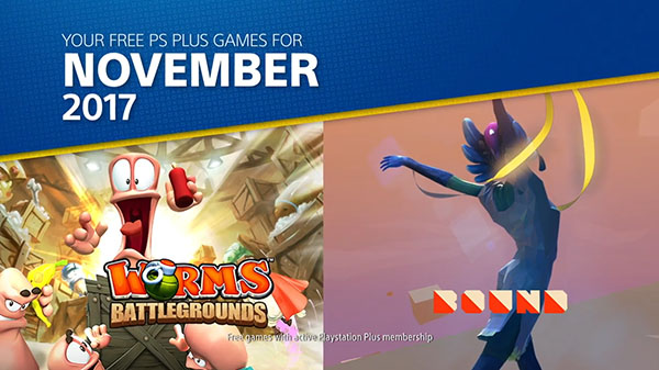PlayStation Plus November 2017