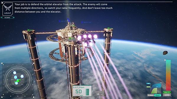 Project Nimbus Code Mirai Orbital Elevators Gameplay