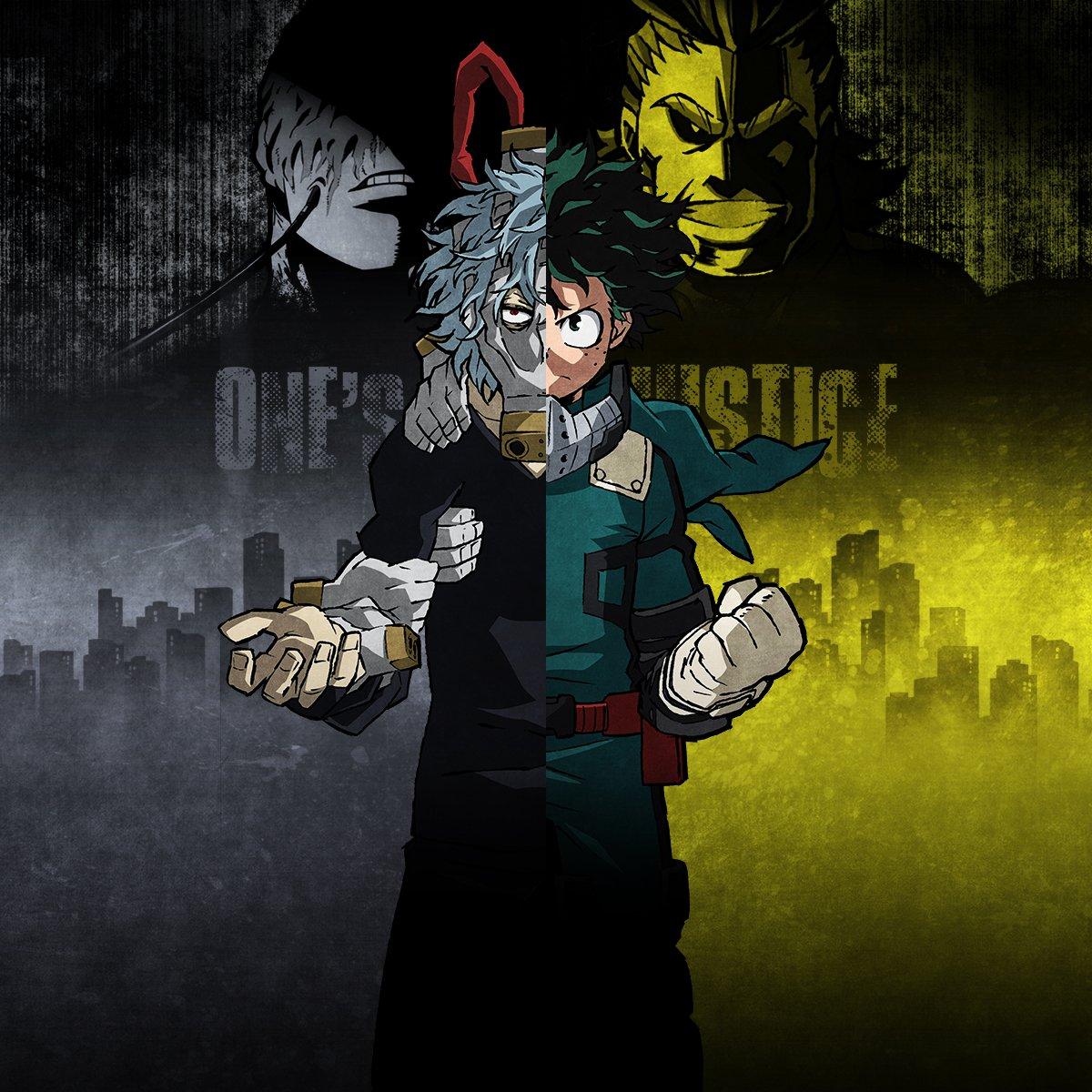 My Hero Academia Heroes: My Hero Academia: One's Justice First Details, Screenshots