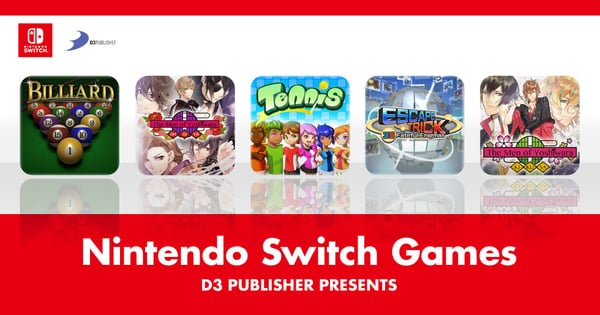D3 Publisher Switch Games