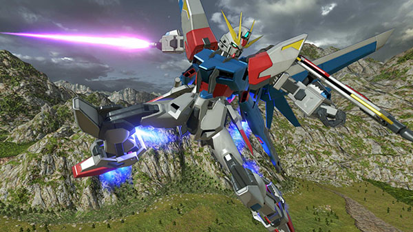 Gundam Versus DLC Mobile Suits 'Build Strike Gundam (Full Package