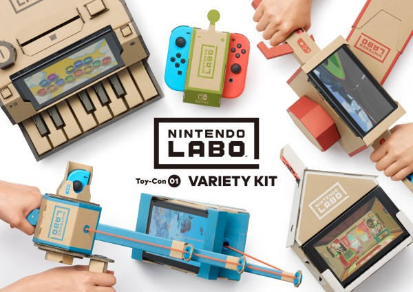 Nintendo Labo – Dự án đột phá từ giấy carton