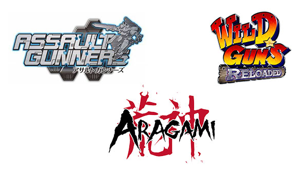 Assault Gunners HD Edition for PS4, Wild Guns Reloaded for Switch, and Aragami: Shadow Edition for Xbox One rated in Taiwan